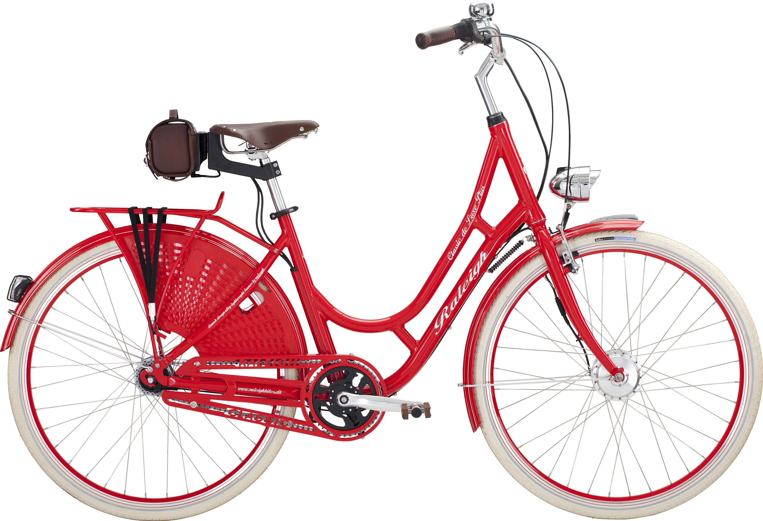 132347 raleigh classic de luxe plus lady 47cm red